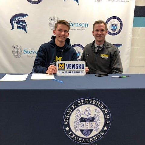 Livonia Stevenson runner signs with U-M Dearborn