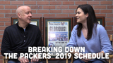 Pete Dougherty and Olivia Reiner discuss the layout of the Packers' 2019 regular season schedule and their most interesting opponents.