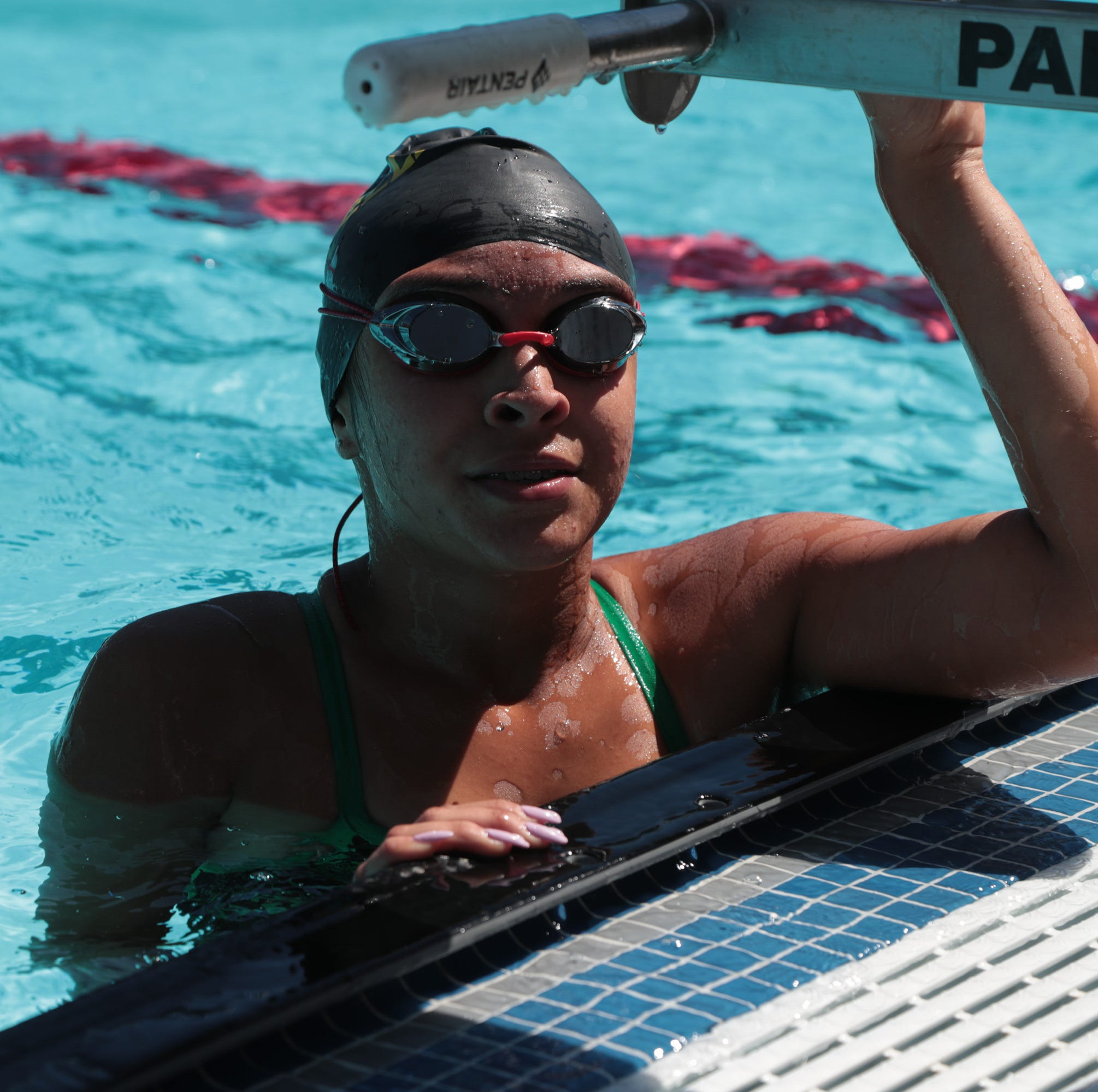 Olivia Garcia, David Nunez and Twentynine Palms make biggest splash at DVL meet