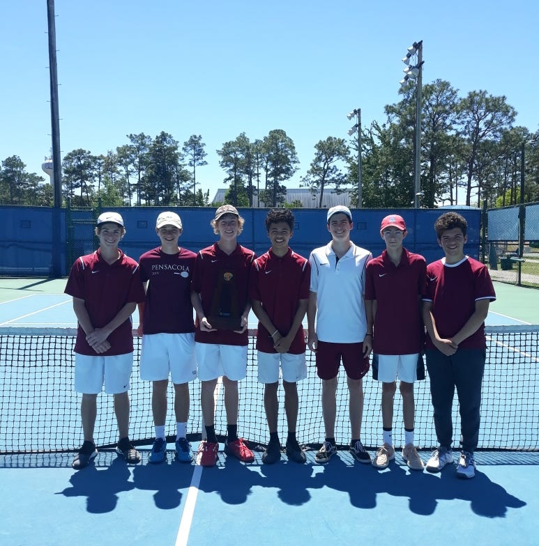 Pensacola High tennis dominant en route to fourth straight district crown