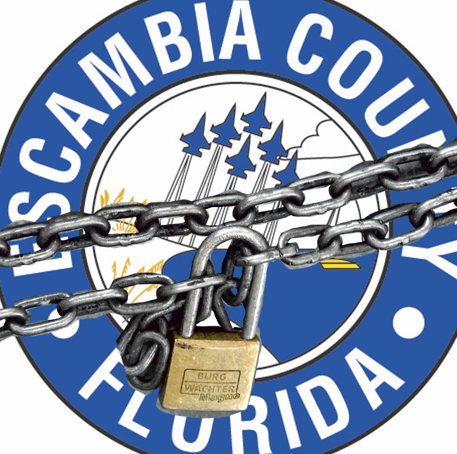 Editorial: As Escambia leaders lock out public, journalism reveals chaos