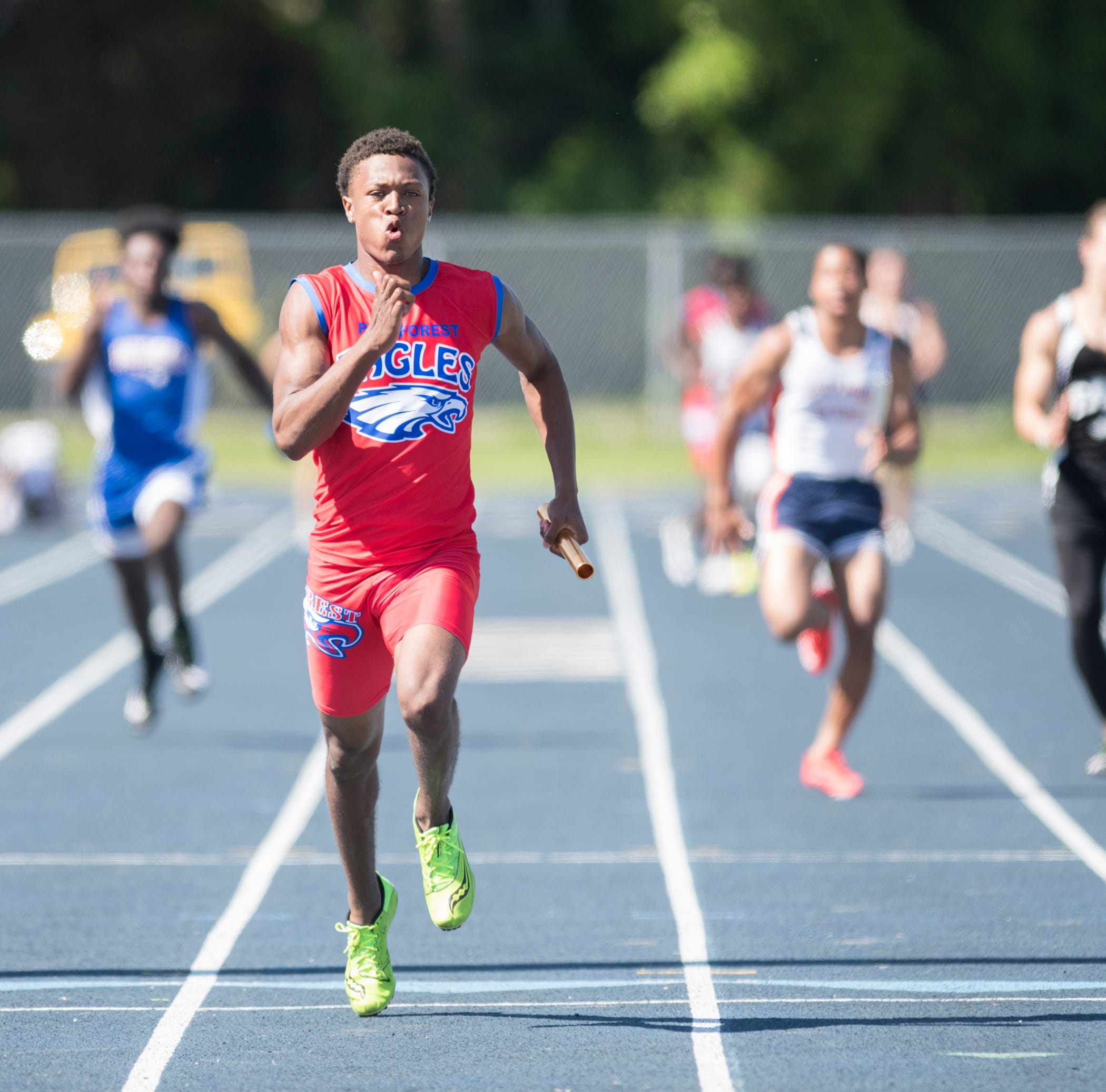 Which Pensacola athletes are contending for state track titles this weekend
