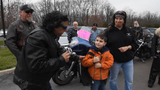Members of American Bikers Aimed Toward Education (ABATE) escorted 7-year-old Jacob Bailey to school after he felt unsafe because of bullying.
