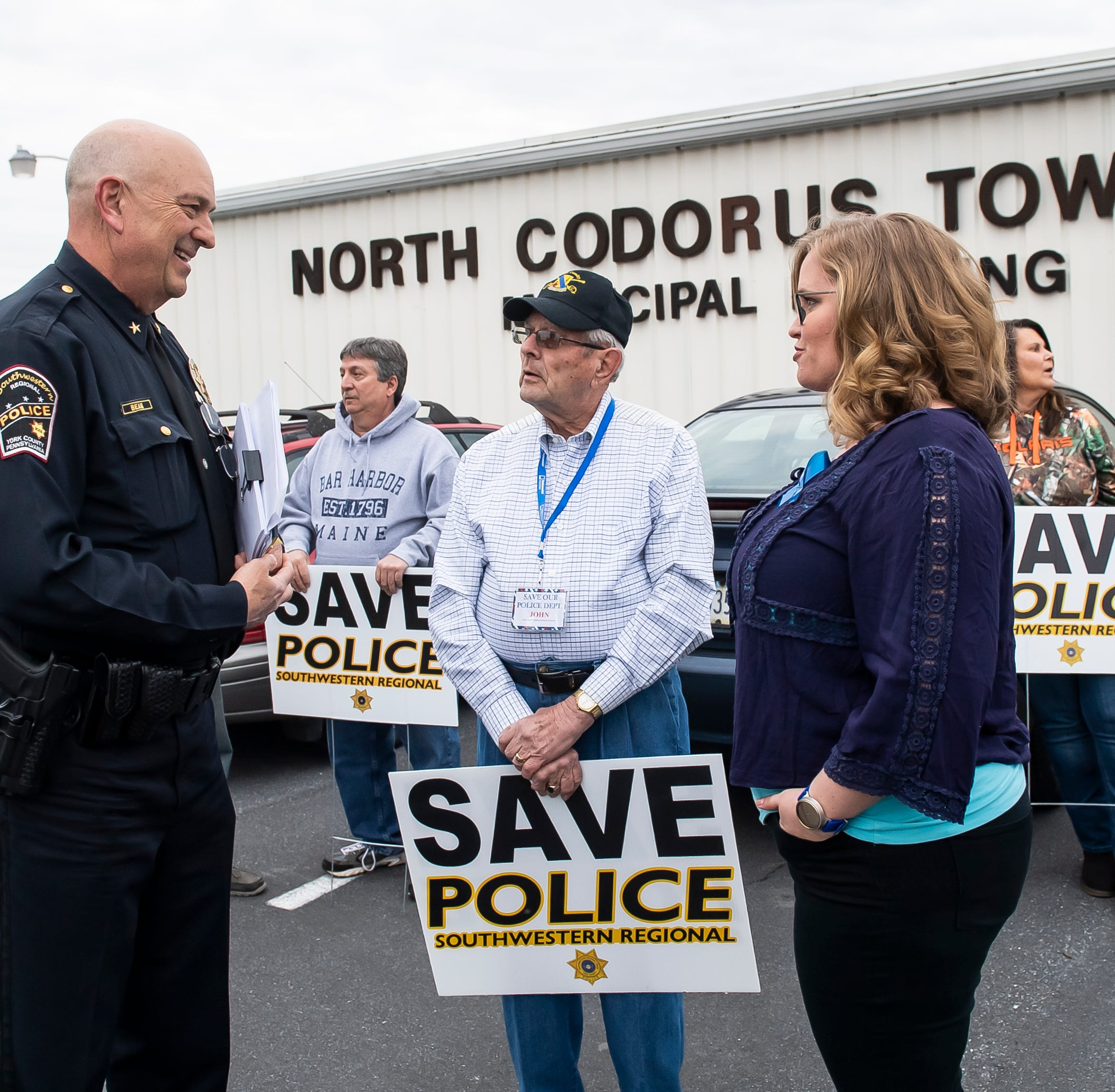 North Codorus Township reviews proposals from two police departments