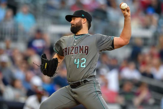 Diamondbacks lefty Robbie Ray allowed five runs, but posted an important scoreless sixth inning.