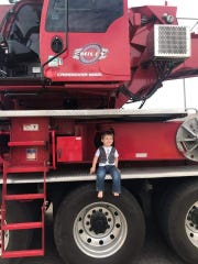 Bennett Bergersen was heartbroken when he missed seeing the crane that delivered his family's new air conditioner. Then he got a surprise visit.