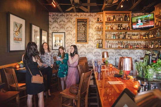The Popular Bar at La Grande Orange Grocery & Pizzeria can be reserved for private events.