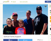 Stacey Sullivan (pink hat) and her family.