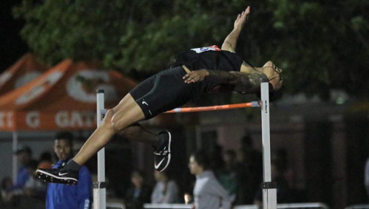 How Arizona S Top High Jumper Learned By Watching Youtube