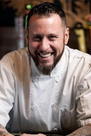 """Phoenix chef Nick LaRosa of Nook Kitchen and Blueprint Hospitality Group competed on Food Network's """"Chopped"""" last night."""