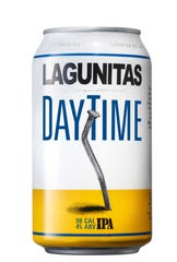 Lagunitas Brewing Co., based in Petaluma, Calif., offers Daytime IPA, a light version of a style heavy on hops a calories. Daytime comes in at 98 calories and 4% ABV.