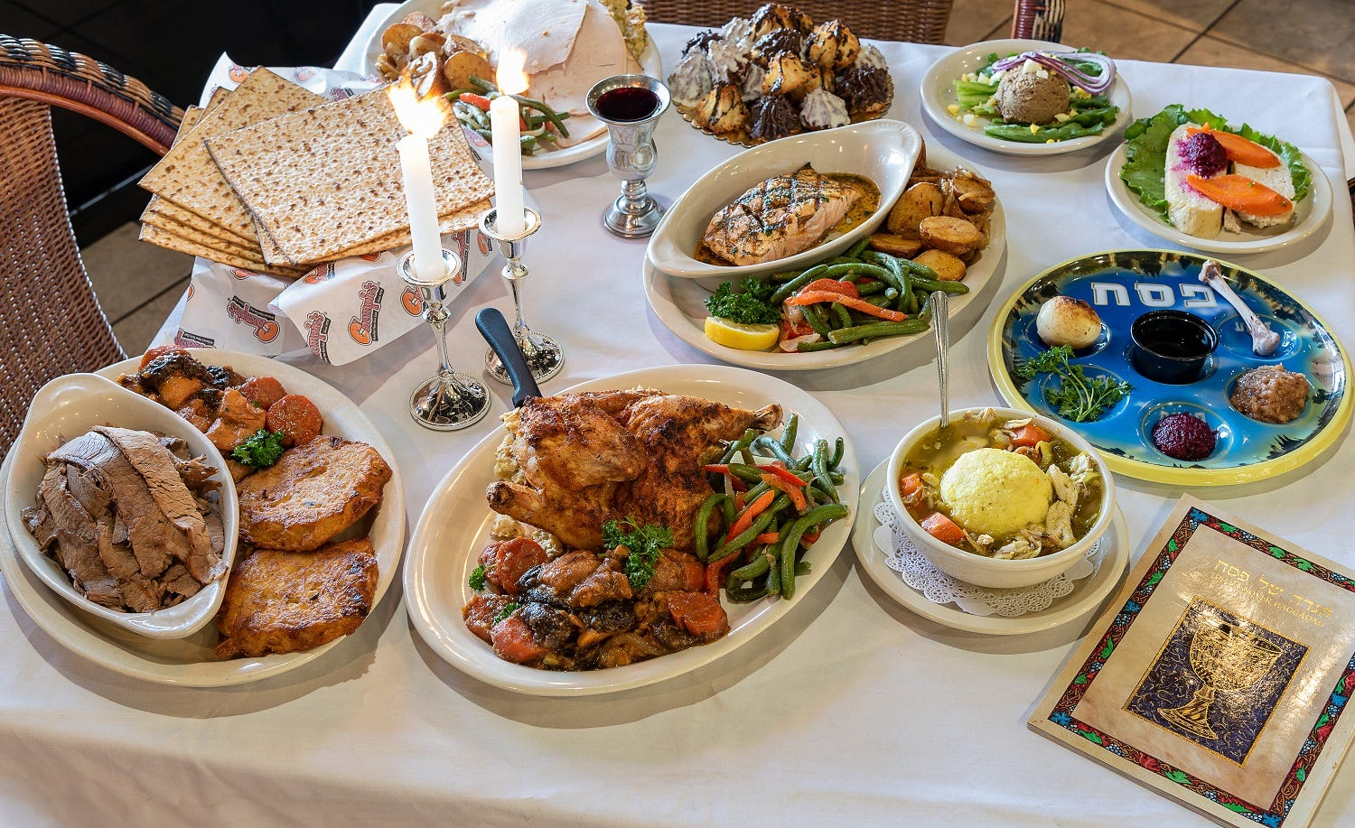 Where to get a Seder dinner during Passover in Phoenix