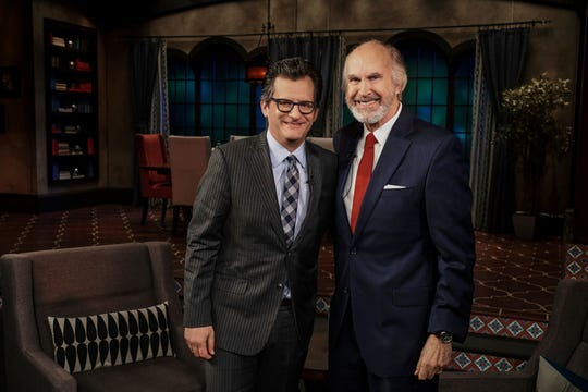 Ben Mankiewicz (left) will host Sun City resident Greg Joseph on TCM.