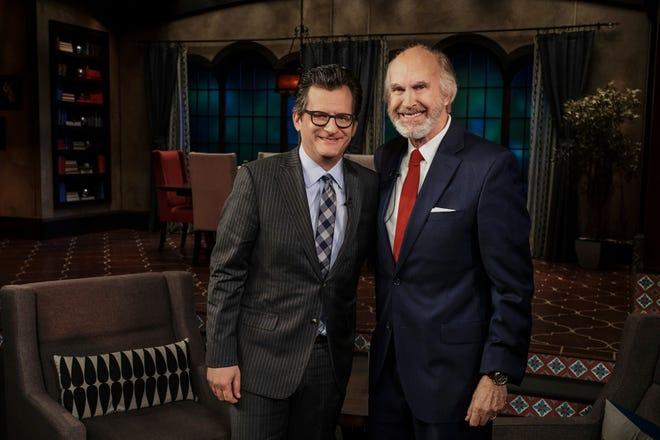 Ben Mankiewicz (left) will host Sun City resident Greg Joseph on TCM.