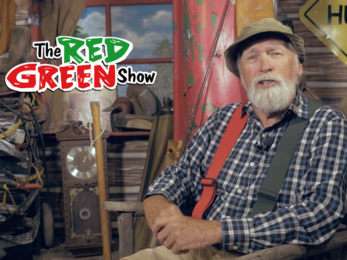 """Steve Smith says """"The Red Green Show,"""" ran for 15 years for a reason. """"The reason it caught on is because people have a Red Green in their family,"""" Smith says."""