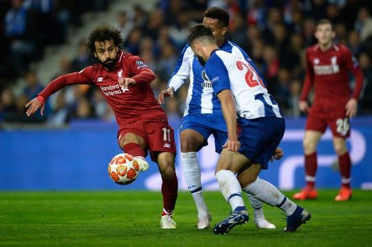 El jugador egipcio Mohamed Salah fue nos de los anotadores de este juego.
