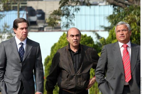 Kamel Nacif, empresario textilero.