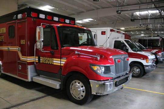 The Port Clinton Fire Department has three ambulances ready to go around the clock in the event of back-to-back 911 calls, according to Chief Kent Johnson.