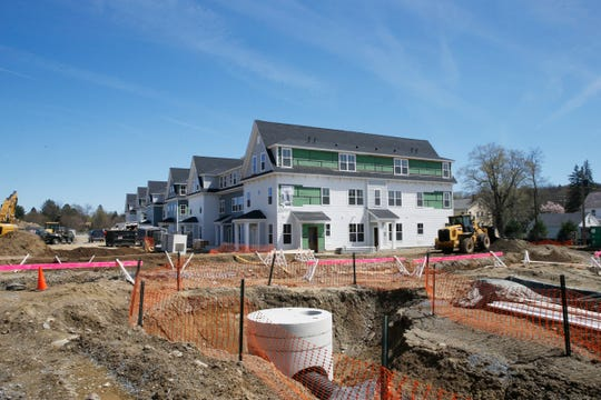 Construction at Eastdale Village by Kirchhoff Companies in the Town of Poughkeepsie on April 17, 2019.