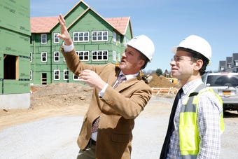 Joseph Kirchhoff talks about the progress that has been made at the Eastdale Village development in the Town of Poughkeepsie.