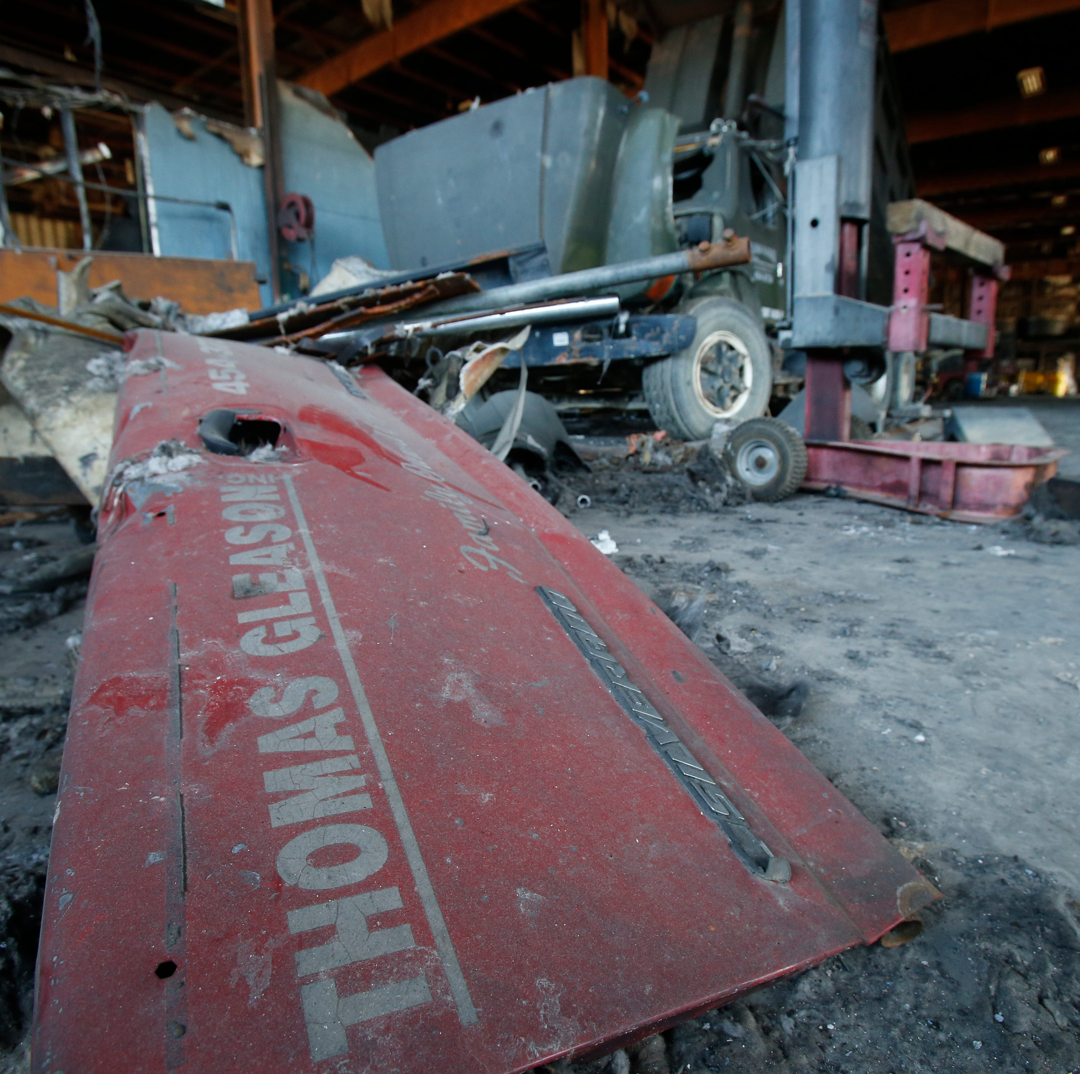 'You move forward:' Thomas Gleason excavation company recoups after devastating blaze