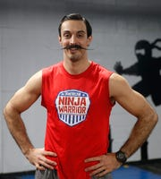 Lucio Battista at Gold's Gym in LaGrange on April 16, 2019. Battista has been on season 9 of American Ninja Warrior and is preparing to be on an upcoming season.