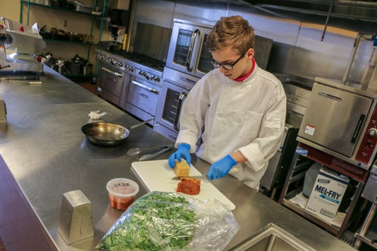 Dayton Suter, 15, will compete nationally  in culinary arts with his team from Milton Hershey School to represent Pennsylvania in the National ProStart Invitiational, in Washington, D.C. May 8-10.  Dayton, a former Red Lion Area School District student, grew up in Felton.