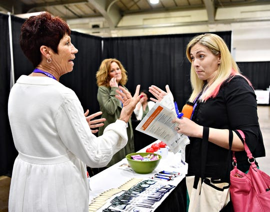 Day one of the two-day Latino Health Summit at Memorial Hall on the York Fairgrounds in West Manchester Township, Wednesday, April 17, 2019. Dawn J. Sagert photo