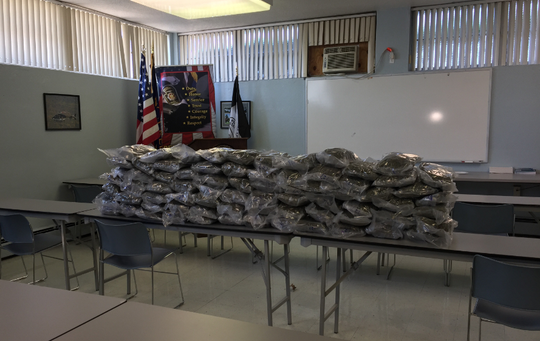 Pennsylvania State Police seized 75 pounds of marijuana on the Pa. Turnpike on Tuesday. Police  the weed was being transported from New York to western Pennsylvania.