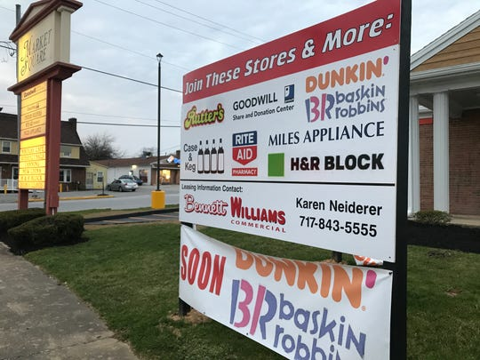 A Dunkin' and Baskin-Robbins store is coming to Shrewsbury. It's one of the changes coming to the area.