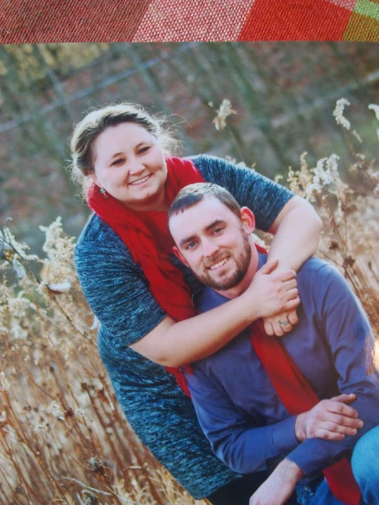 Olivia Cunningham, pictured with her husband, Caleb Cunningham, of Hellam Township. Olivia was killed by a gunman in Tennessee on Tuesday. Her family and colleagues remembered her as a servant and faithful Christian.