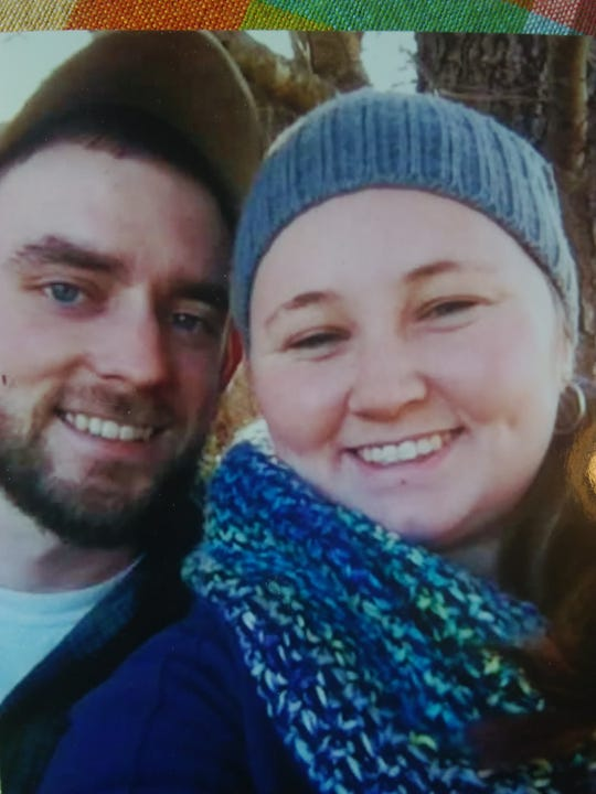 Olivia Cunningham smiles with her husband, Caleb. Olivia's family and colleagues described her as kind and giving, and said her smile was infectious.