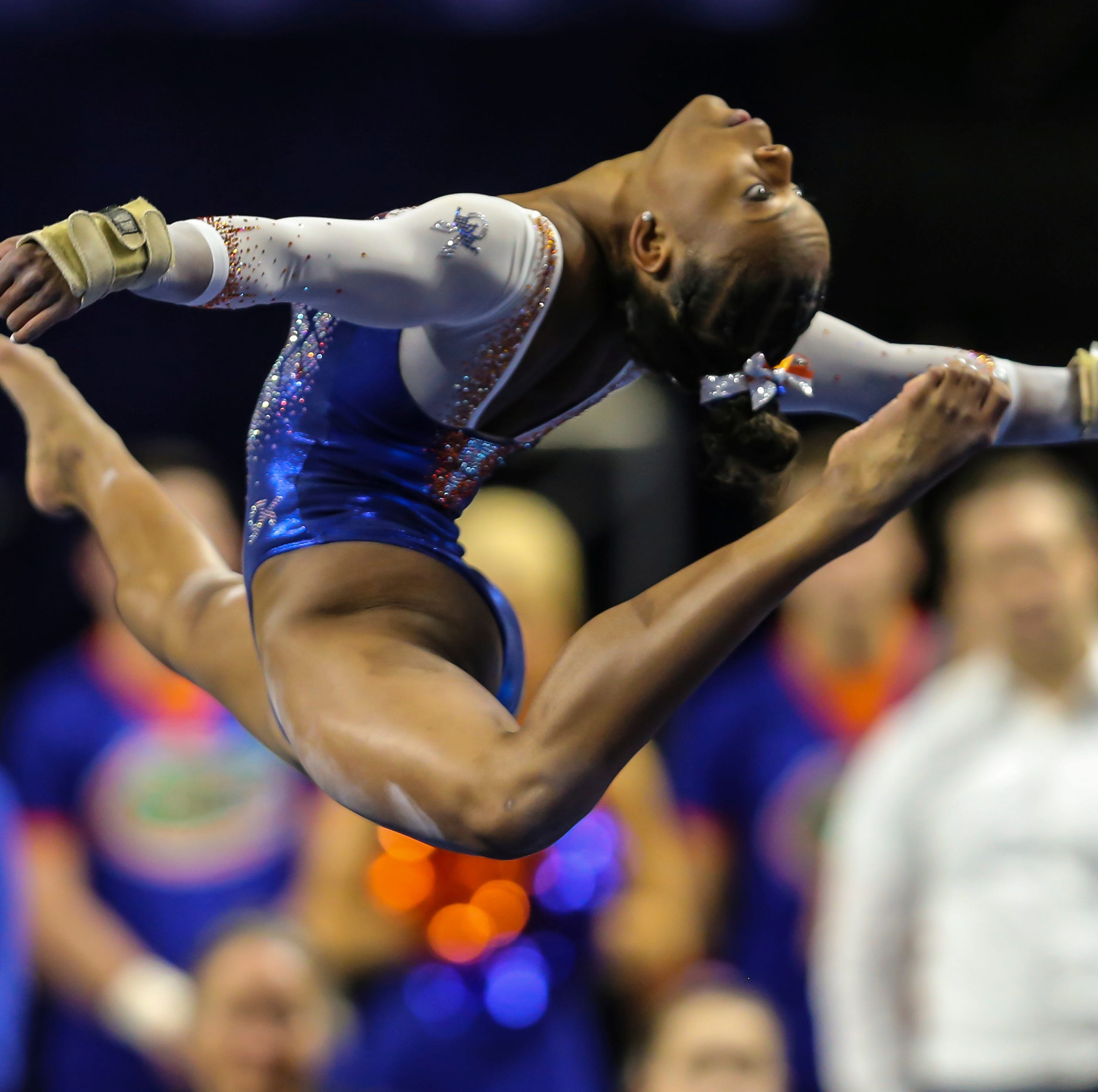York gymnast Trinity Thomas reaches podium at NCAA Gymnastics Championships