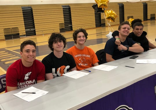 Spanish Springs had 16 athletes sign for college on Wednesday.