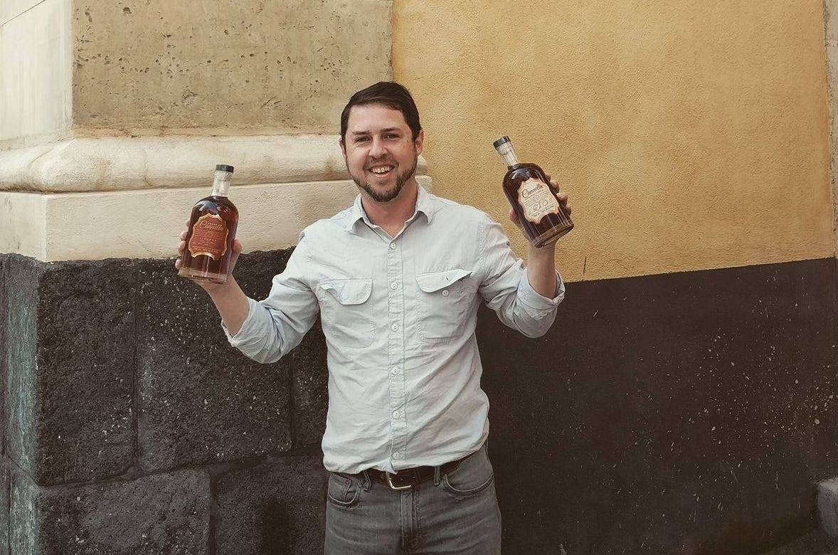 Joe Cannella (shown here  on the Via Cannella in Sicily) is the founder of Ferino Distillery of Reno, which is offering free drinks for life to people who buy drinks club memberships in advance of the distillery's opening scheduled for late summer 2019.