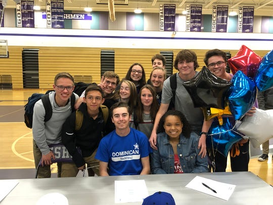 Spanish Springs had 16 athletes sign for college in a ceremony at the school on Wednesday.