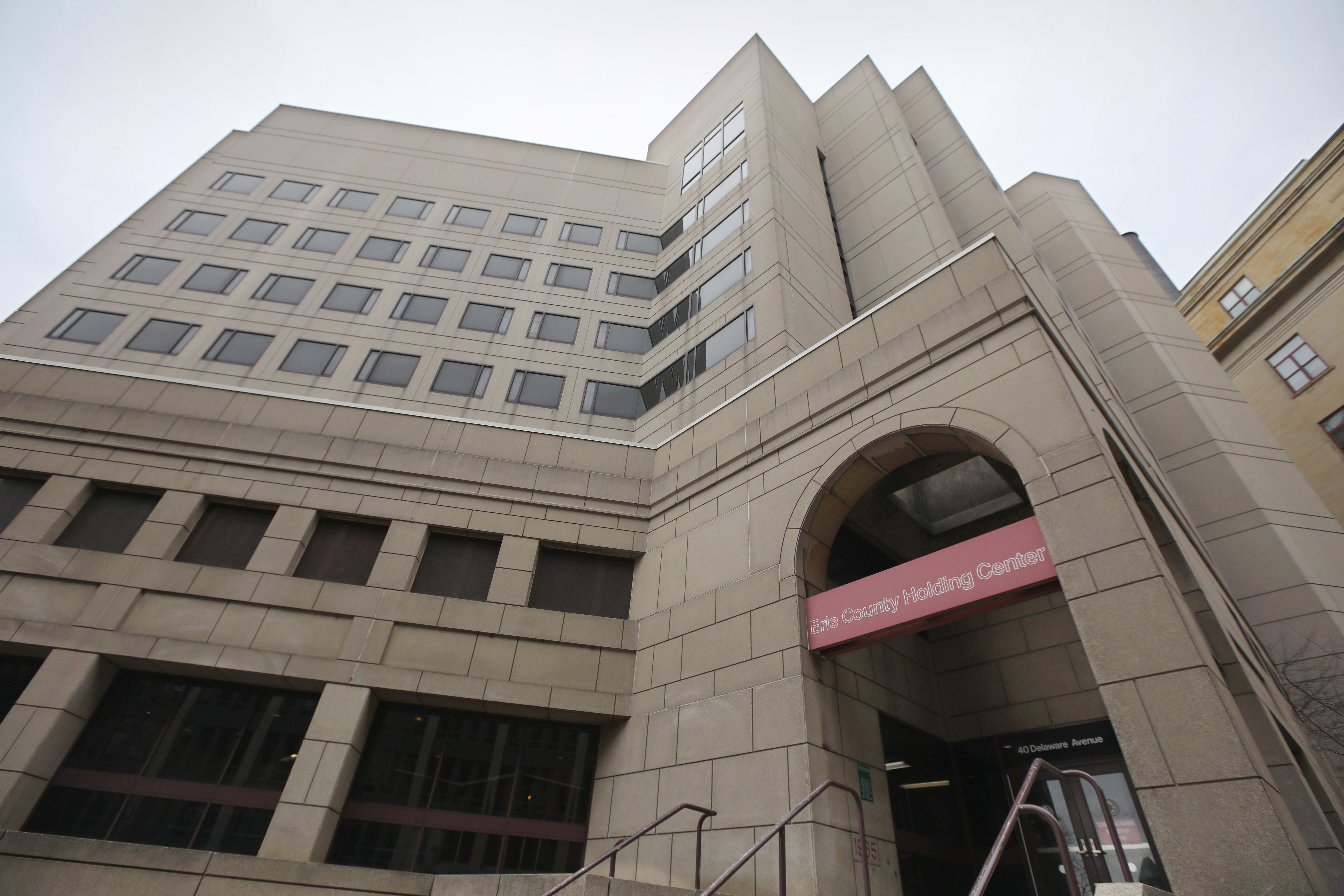 The Erie County Holding Center in downtown Buffalo Wednesday, March 13, 2019.  India Cummings was held here for 21 days without treatment, which contributed to her death.