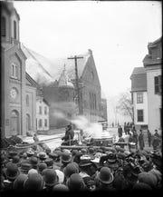 Grove Street churches after April 14, 1909 fire.