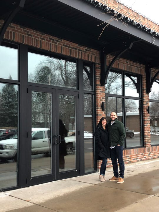 Drs. Chelsea and Carl Moe hope to have their chiropractic office up and running at 632 N. Winton Road by June.