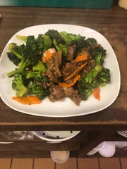 Beef and broccoli at Lucky Dragon, a new restaurant in Independence.