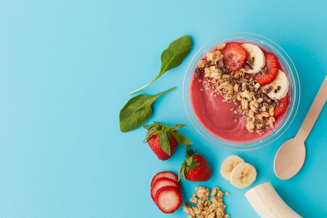 Press + Chill will be opening in May and will feature a variety of smoothie bowls, paninis, salads, toasts and pizzas with vegetarian, vegan and gluten-free varieties