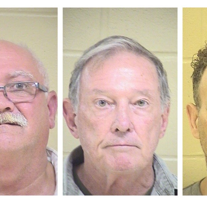 Five men charged after exposing themselves to undercover agents at Shreveport park