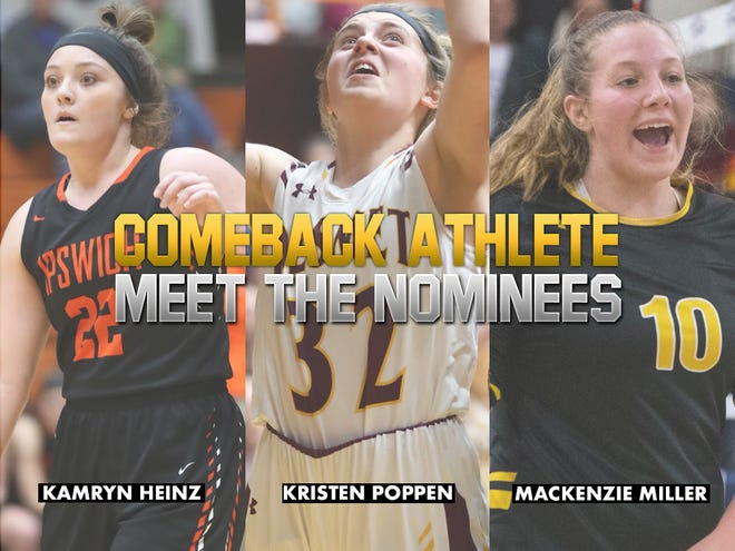 Meet the Comeback Athlete of the Year nominees.