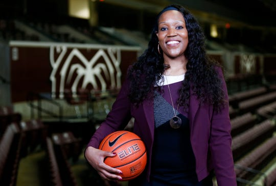 Amaka Agugua-Hamilton was named as the Missouri State Lady Bears head coach on Wednesday, April 17, 2019.