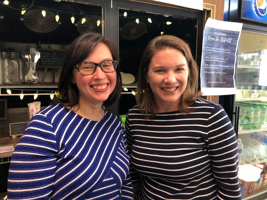 Cassy Maxton-Whitacre and Amanda Drumheller started RefillRenew, a new refillable bulk cleaning and personal care popup shop inside Nu-Beginning Farm's The Store in Staunton. The two came up with the idea when they learned that plastic wasn't going to be recycled. They offer refillable bottles — or allow you to bring your own — and select from the store's various cleaning products.