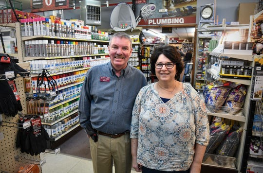 Handyman's Inc. owners Doug and Carol Severson are pictured Wednesday, April 17, in the St. Cloud store. The Seversons were named the 2019 St. Cloud Area Small Business Owners of the Year.