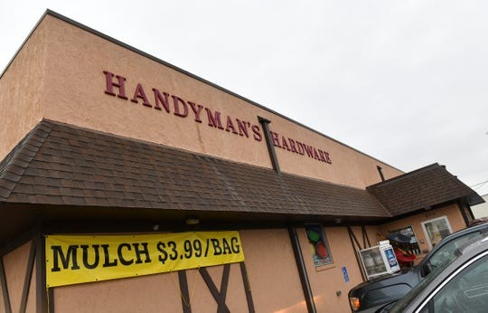 Handymans Hardware is pictured Wednesday, April 17, in St. Cloud.