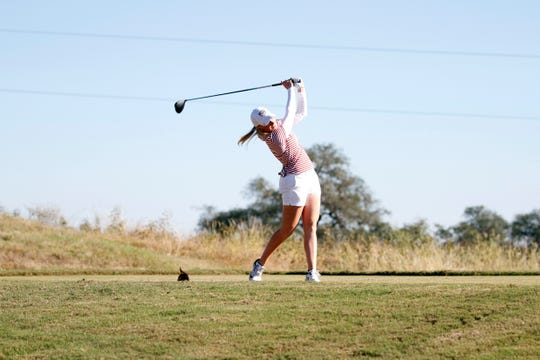 FSU freshman Frida Kinhult is the only ACC golfer who will enter ACC Championships with a sub-70 stroke average this season.