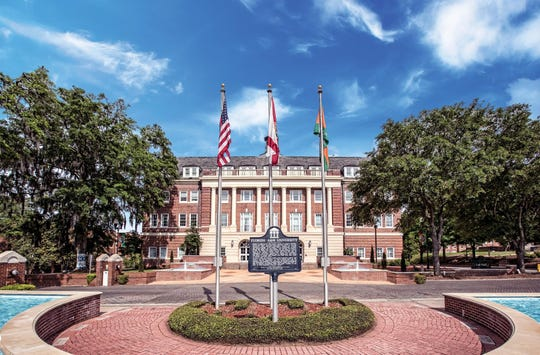 Lee Hall on the campus of Florida A&M University.