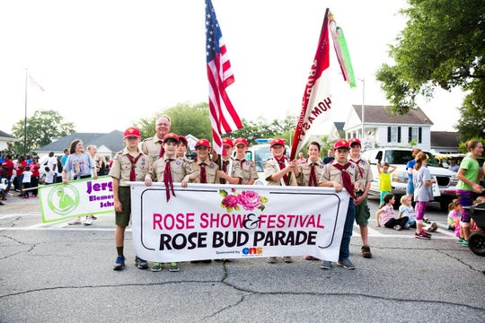 Festivities officially kick off on Thursday with the first of two parades, this one geared to Thomasville's youngest citizens. The children's Rose Bud Parade features student groups, families, and friends getting into the rose-y spirit of the festival.